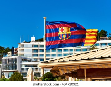 Barcelona Flag Images Stock Photos Vectors Shutterstock