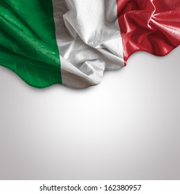 Waving flag of Italy, Europe