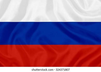 waving flag of Russia