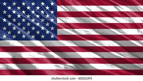 Waving flag series - USA
