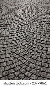 wavy brick walkway #4