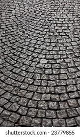 wavy brick walkway #5