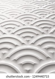 wavy emboss pattern for wall decoration white color, background of white emboss, beautiful emboss pattern texture
