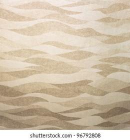Wavy golden background/texture