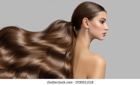wavy long thick hair womens fashion. Hair care