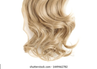Wavy Ribbon Blonde Synthetic Ponytail Hair Extension