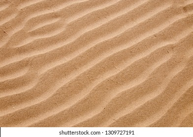 Wavy sand texture and pattern
