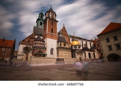 Wawel Castle long exposure Krakow