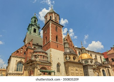 Wawel Cathedral, The Cathedral Basilica of Sts. Stanislaw and Vaclav on the Wawel Hill in Krakow