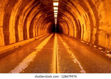 Wawona Tunnel, Yosemite National Park, California
