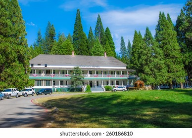 Wawona, Yosemite National Park - July 15th - The Wawona Hotel is one of the oldest mountain resort hotels in California built is 1876 containing 104 guest rooms. Taken on July 15th 2007.