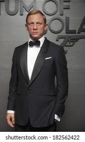 Wax figure of Daniel Craig at Madame Tussauds Unveils Wax Figure of Daniel Craig as James Bond, Madame Tussauds New York, New York, November 13, 2008