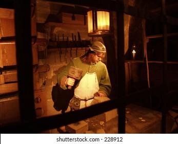 Wax Figure at Warwick Castle