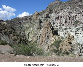 Wax Museum in the Atuel Canyon, Mendoza, Argentina
