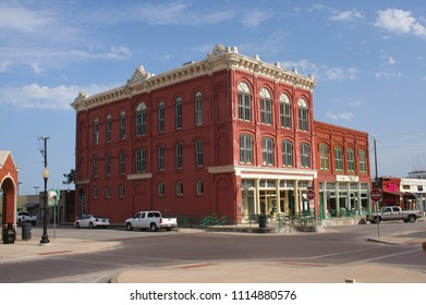 Waxahachie, TX - July, 9, 2011: Ellis County Museum in Downtown Waxahachie, TX. View from Courthouse Square