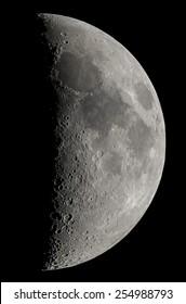Waxing Crescent/First quarter Moon