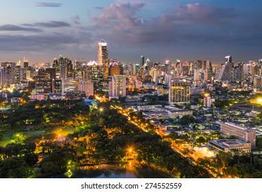 Way to capital city bangkok
