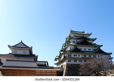Way closer to Nagoya Castle, the icon of the city and Chubu Region. Taken in Nagoya - Japan, February 2018.