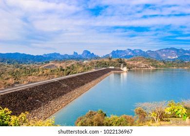 Way of Guilin Dam, Surat Thani Province.