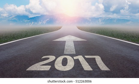 the way into the new year