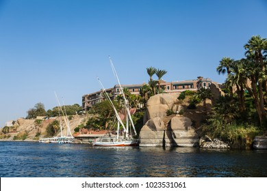 In the way to the Nubian village in Aswan, Egypt