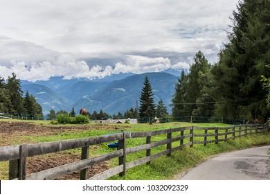 Way in Tirol alps