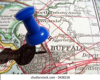 The way we looked at Buffalo, NY in 1949.