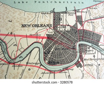 The way we looked at New Orleans in 1949.