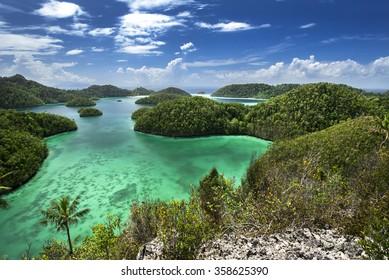 Wayag Hills, Raja Ampat, West Papua