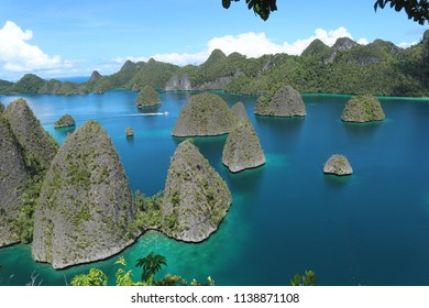 Wayag Island is one of the islands within the Raja Ampat district in the province of West Papua. The island is known for its beautiful atolls and amazing underwater . Raja Ampat January 11 2018