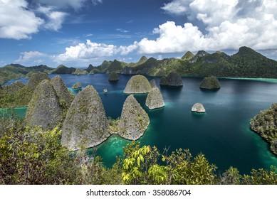 Wayag, Raja Ampat, West Papua, Indonesia