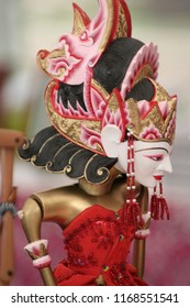 Wayang golek, one of Indonesia's cultural riches.