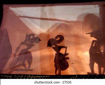 Wayang (puppet shadow from Indonesia). UNESCO proclaimed 28 cultural works around the world as Masterpieces of the Oral and Intangible Heritage of Humanity, among them is the Wayang Puppet Theater of Indonesia, ancient form of storytelling