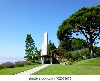 Wayfarers Chapel in Los Angeles