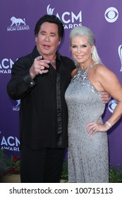 Wayne Newton at the 47th Academy Of Country Music Awards Arrivals, MGM Grand, Las Vegas, NV 04-01-12