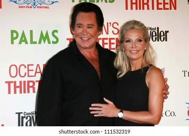 "Wayne Newton and wife Kathleen at the CineVegas Opening Night Premiere Of ""Ocean's Thirteen"". Palms Casino Resort, Las Vegas, NV. 06-06-07"