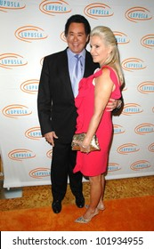 Wayne Newton and Wife Kathleen McCrone at the  10th Annual Lupus LA Orange Ball, Beverly Wilshire Hotel, Beverly Hills, CA. 05-06-10