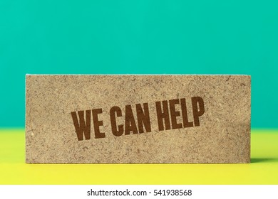 We Can Help, Business Concept