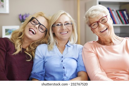 We have problems with vision but we like wearing glasses