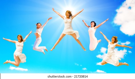 We jump to the sun!
