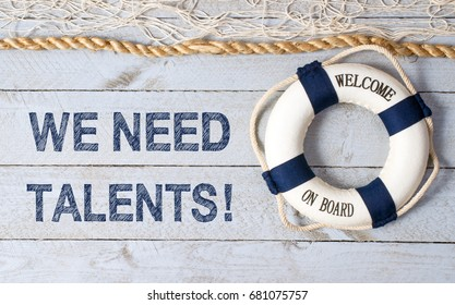 We need talents - welcome on board - Talent Management
