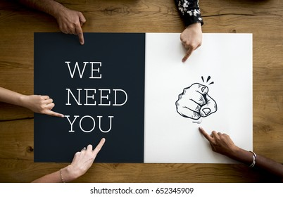 We need you hiring employment work
