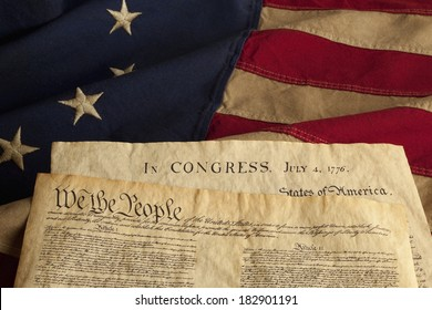 We the People are the opening words of the preamble to the Constitution of the United States of America and the Declaration of Independence dated July 4, 1776.