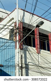 We are successfully connected, Tangle of Electrical Wires Manado, indonesia