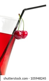 weak alcoholic drink made from sweet cherries