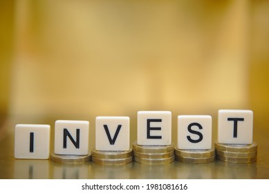 Wealth building savings and investment concept