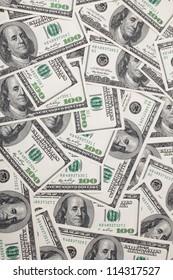 Wealth dollars background