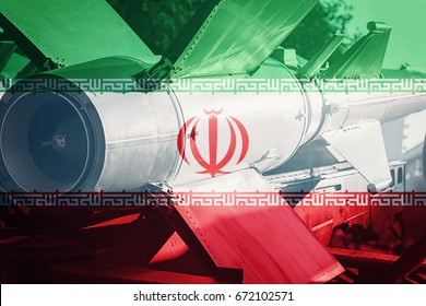 Weapons of mass destruction. Iran ICBM missile. War Background.