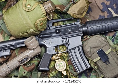 weapons and military equipment of special operations forces soldier