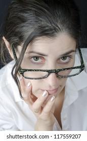 I wear glasses and I'm interesting ...